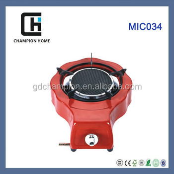 Iron with color coating gas stoves