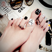 Unique and Beauty Nails Salon Decorations Artificial Toe Tips