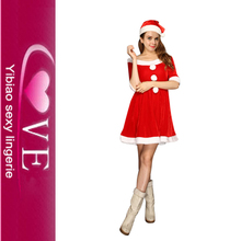 Western Christmas Girl Carnival Costumes White Christmas Party Sexy Costumes