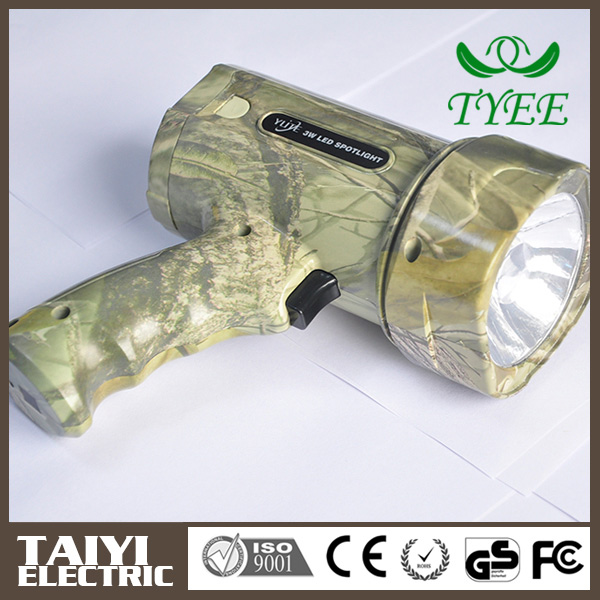 Good quality Durable Portable hand charge torch light