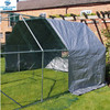 end cover for chicken run walk in coop poultry dog rabbit hen cage pen with metal door