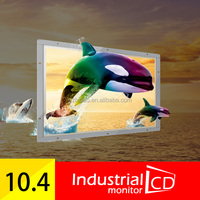 "10.4 Inch Open Frame 4 wire Resistive Touch Screen Monitor PC 10"" inch Touch Screen TFT LCD Color Monitor"