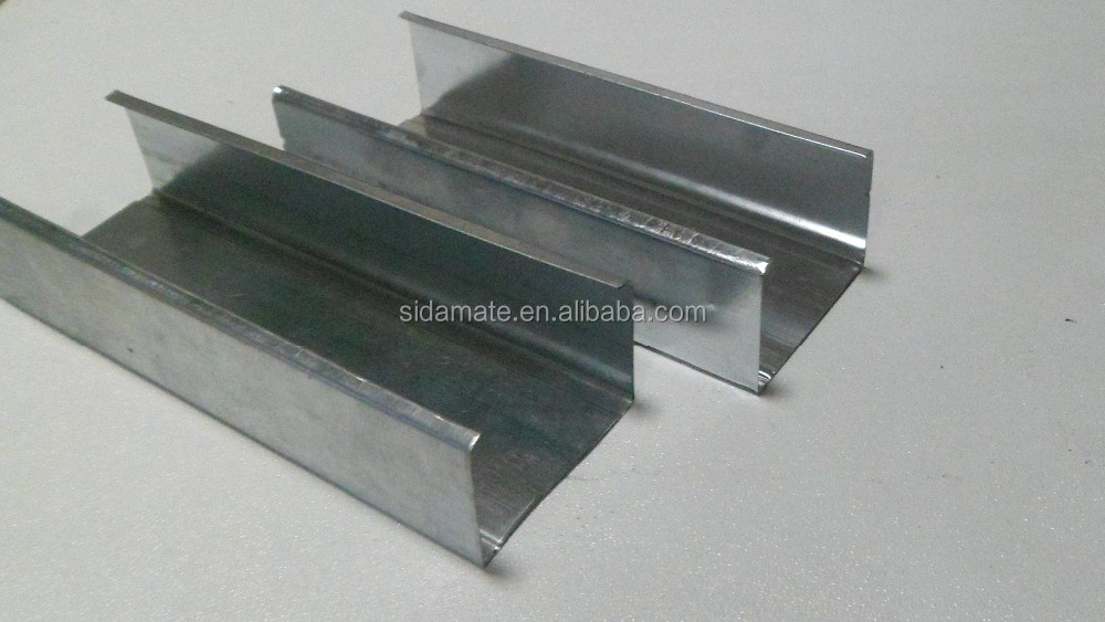 Hot dipped galvanized steel metal stud and track for drywall