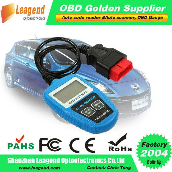 100% Original QUICKLYNKS!!!obd2 car engine analyzer