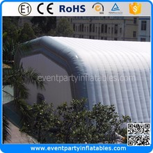 Outdoor sealed airbeam inflatable structure dome