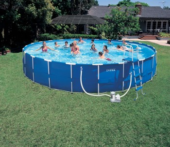 2016 High Quality Above Ground Intex Frame Swimming Pool for Sale