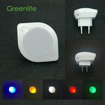 0.5W Unique Sensor Mini Baby LED Night Light Plug in Night Light