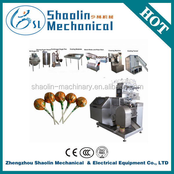 The Most Novel toffee candy/lollipop making machine with best service