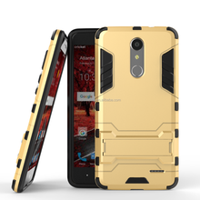 Kickstand shockproof case for ZTE Grand X4, TPU+PC stand case for ZTE Grand X4