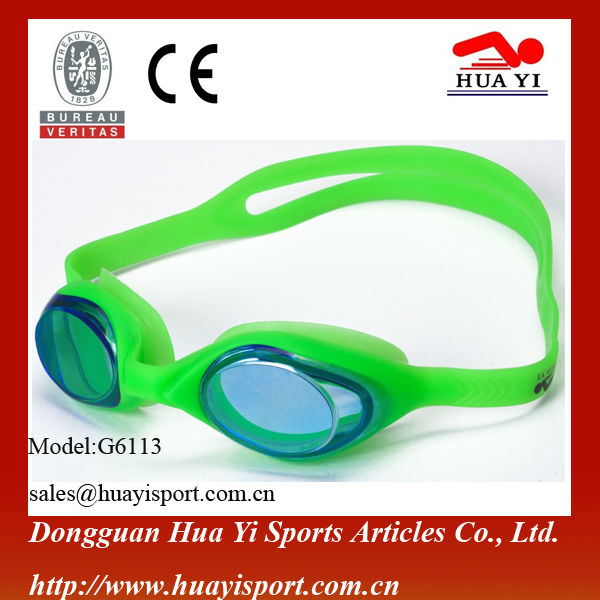 Watersports Silicone Swimming Goggles Eyewear One