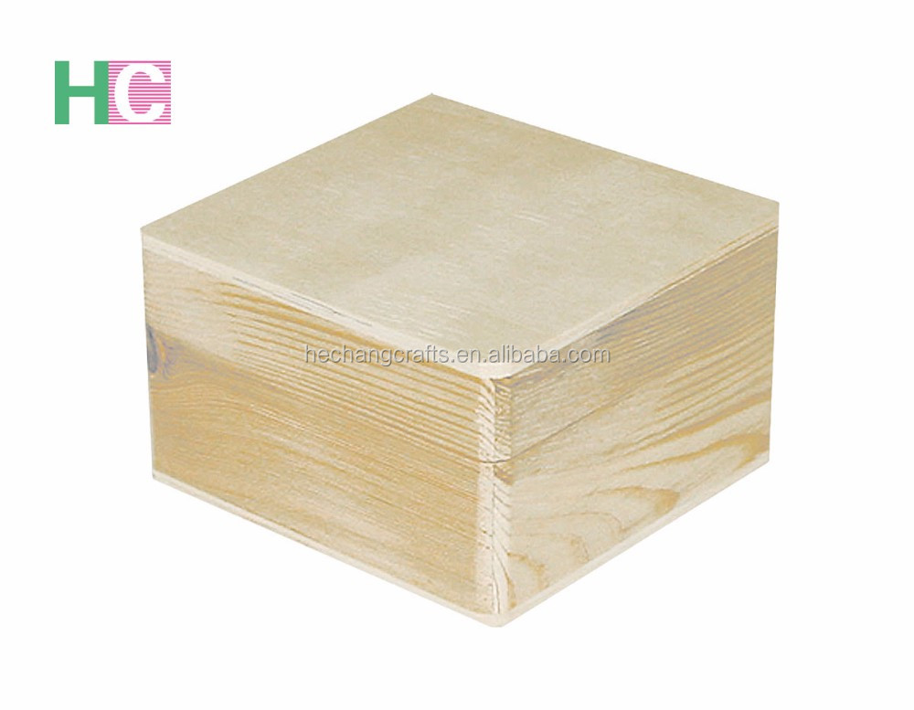 2017 cheap small plain <strong>wood</strong> boxes wholesale