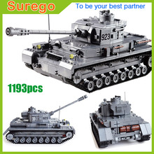 Century Military WW2 German Panzer IV F2 Tank 3D Model Cannon Panzerkampfwagen 923 Building Blocks Armored Forces kazi KY82010