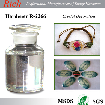 epoxy resin and hardener R-2266 for decoration