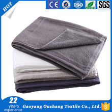 New arrival commercial household series 100% cotton thin cotton bath towels