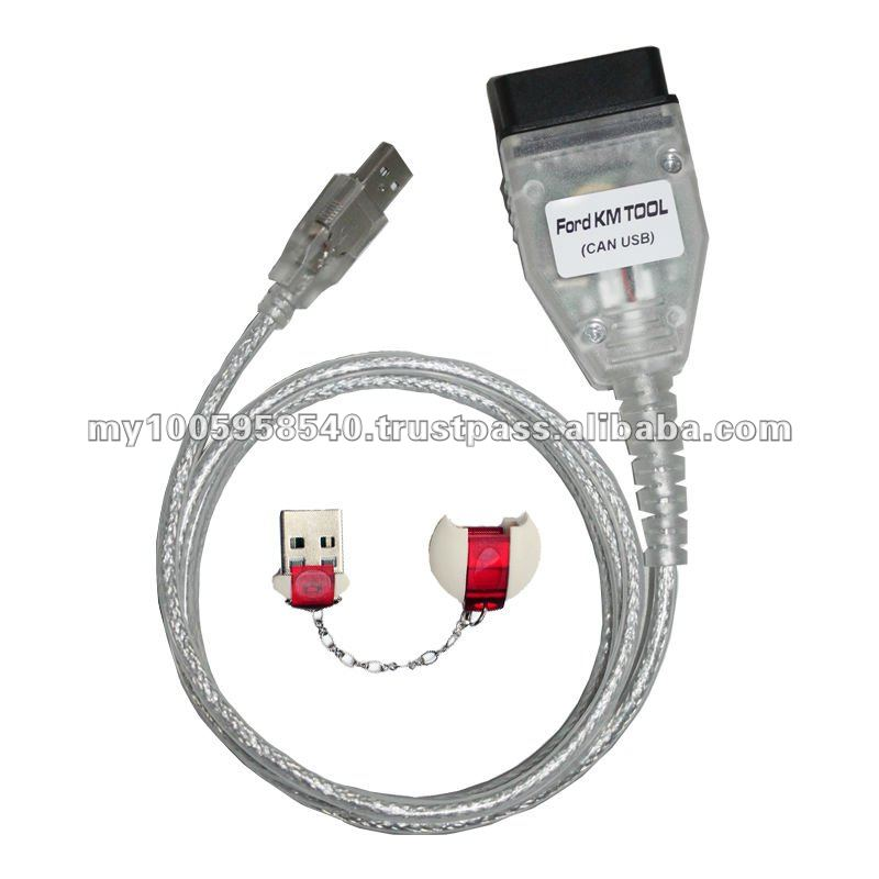 2012 newly Newest mileage odometer correction FORD KM TOOL(CAN USB) with best price