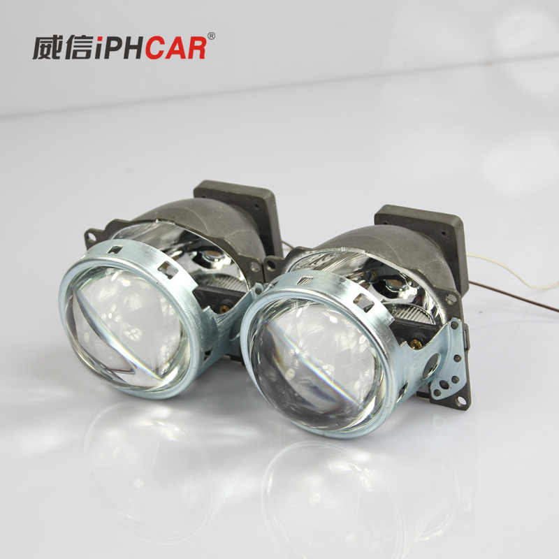 IPHCAR brand new D2S bulb round bi-xenon original factory Q5 projector glass lenses for universal car