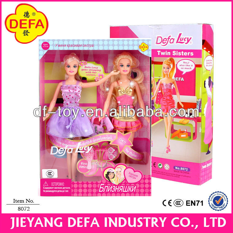 DEFA baby girl toy Hot Selling 11.5Inch American Girl Doll DIY toy