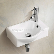 HY-3083L New develop bathroom wall hung small hand wash basin