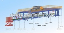 Auto matic Mgo magnesium oxide fireproof drywall board making machine production line