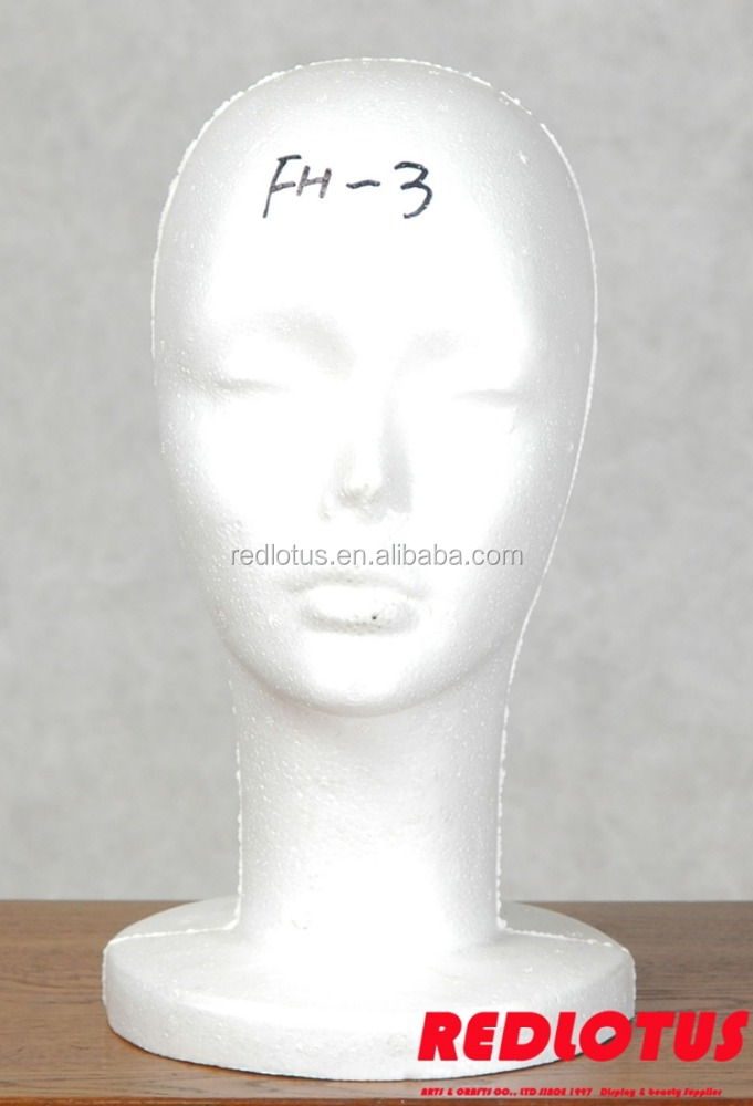 OEM Service custom foam head dummy for sale