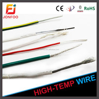 JONFOO GOOD QUALITY LOW PRICE CARBON FIBER HIGH TEMPERATURE RESISTANT INSULATION ELECTRIC ALLOY SILICONE RUBBER HEATING WIRE