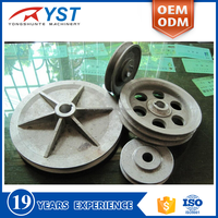 Custom sand casting Industrial wheel and axle