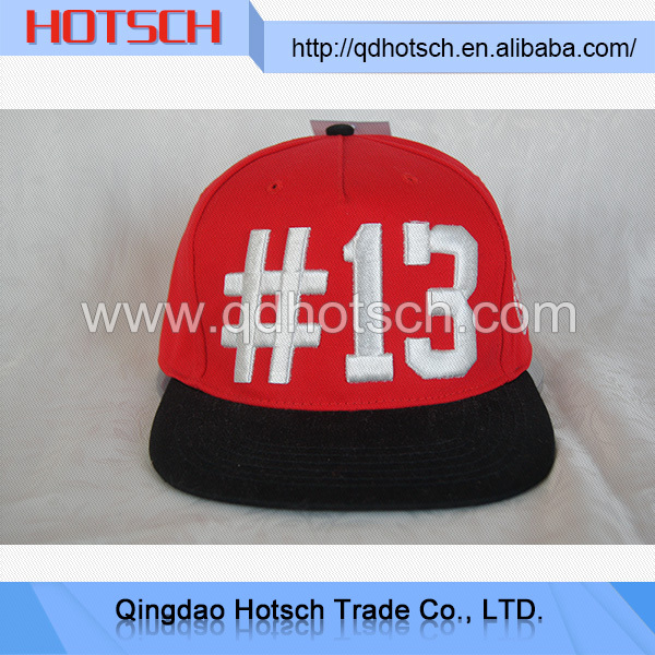 China products high quality baseball snap back flat cap