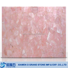 Rose Crystal Quartz, Semiprecious Crystal Stone Slabs Price