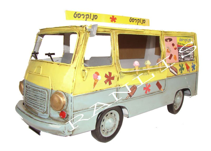 Israeli Ice Cream Car With Music