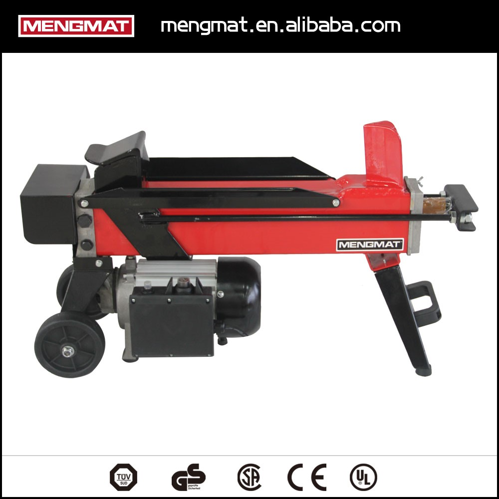Hydraulic Electric log splitter with CE approved , horizontal log