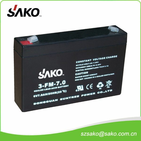 6V4AH Sealed Lead-acid Battery with 12 Months Quality Warranty And Low Price