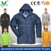 HANGZHOU YANLI 100%waterproof,breathable,pvc rain coat /raincoat
