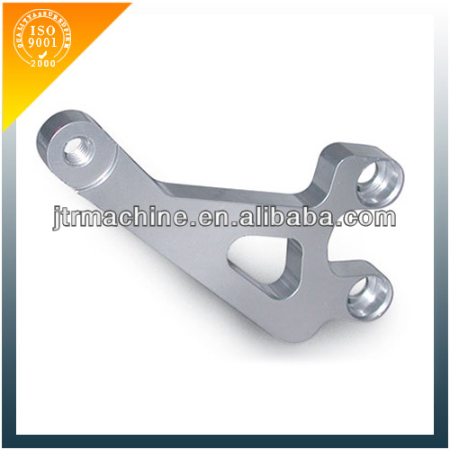 Custom precision CNC aluminum lever for motorcycle parts