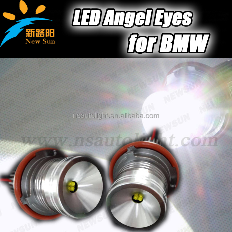 20W LED Marker Angel Eyes Halo Headlight for BMW E39 E53 E60/E61 E63/E64 E65/E66, E39 USA chip LED Marker cheap & Fast Shipping
