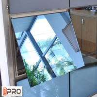 2015 cheap house windows for sale aluminum window AS2047 awning window top hung window in China