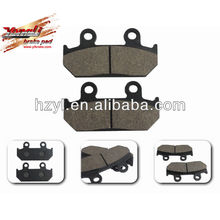 Hot sale forbrake pad three wheel motorcycle