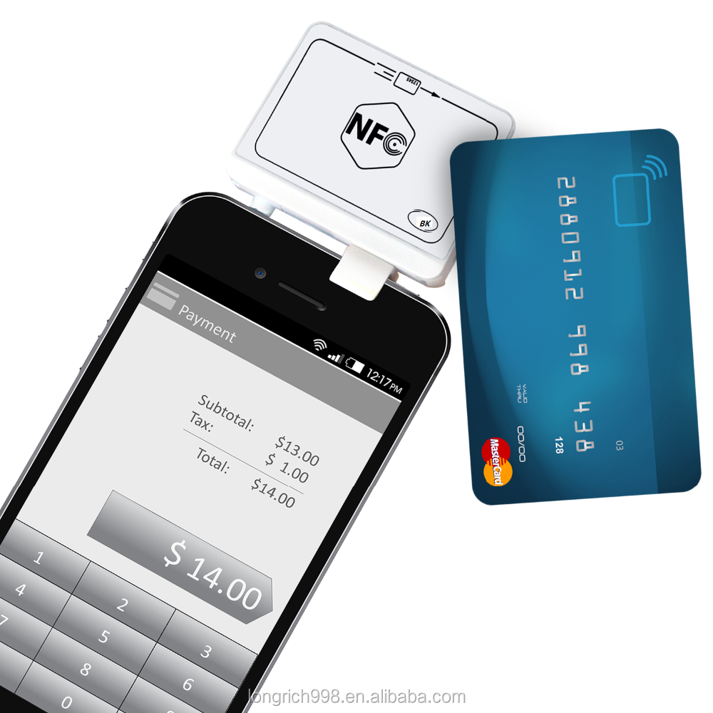 smallest contactless magnetic stripe reader