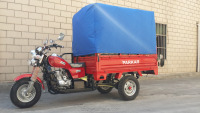 200cc light gas reverse passenger motor enclosed 3 three wheel trike with cab (SY200ZH-E6)