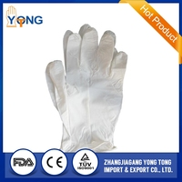 HOT!nitrile disposable gloves