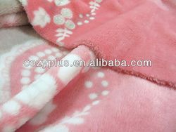 2013 alibaba top 10 Fleece Blanket 100% Polyester Fabric for foot massage fabric sofa chair