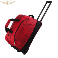 High Qaulity Fashionable Waterproof Expandable Wheeled 20 Inch Rolling Duffle Bags