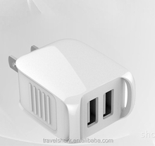 For samsung iphone, 5V1A / 5V2A travel charger, business trip partner