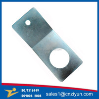 OEM L shaped sheet metal brackets, metal steel brackets