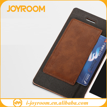 joyroom pu leather cover phone case wallet phone case mobile for iphone 7/7plus