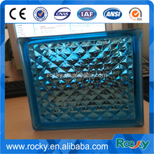 Decorative Colored Glass Block For Bar
