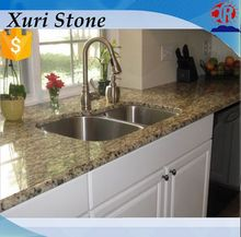 Laminate Santa Cecilia Light Granite Kitchen Countertops, Yellow Granite Stone For Sale