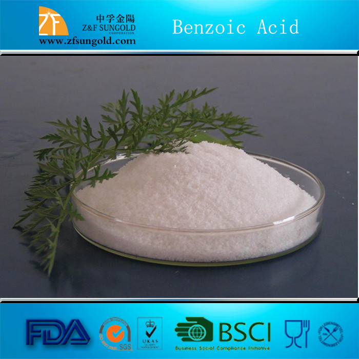 2016 TOP Hot Selling Antioxidants & Preservatives in China - Benzoic Acid(C6H5COOH), High Quality, Best Price and Support Sample