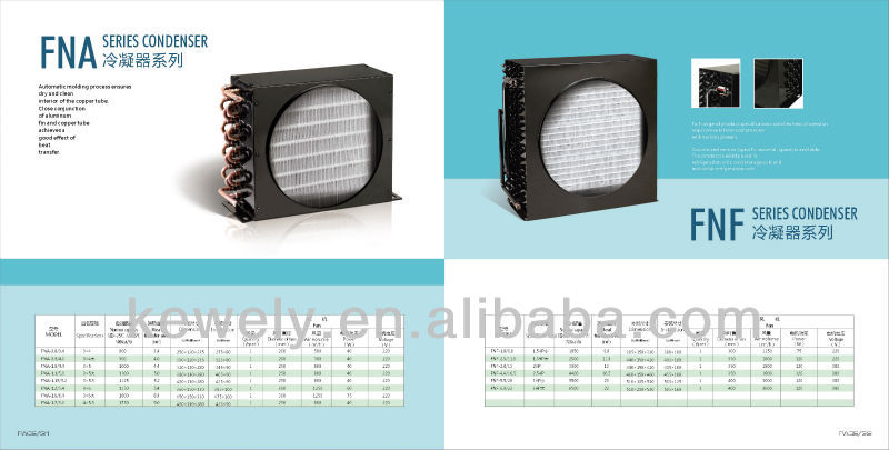 air condensing unit of refrigeration spare parts