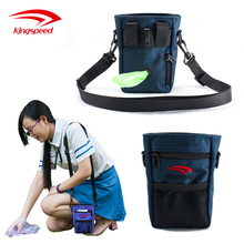 wholesale premium fabric dog training bag toy carrier treat pouch and waste poop bag dispenser