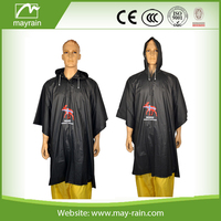 reusable strong pvc motorcycle Rain cover Poncho